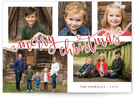 Revelry Holiday Photo Cards