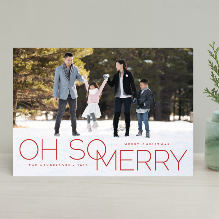 oh so merry in line by Qing Ji