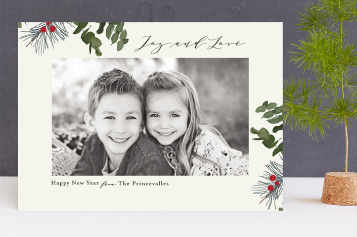 """""""Forest Magic"""" - Holiday Photo Cards in Snow by Chris Griffith."""