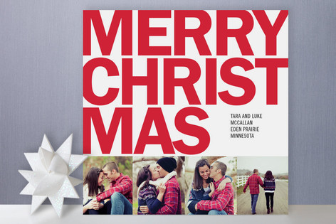 Four Square Holiday Photo Cards