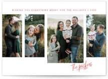Possibilities Holiday Photo Cards By Kimberly Morgan