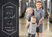 Wonderful Time of Year Holiday Photo Cards By Sarah Curry