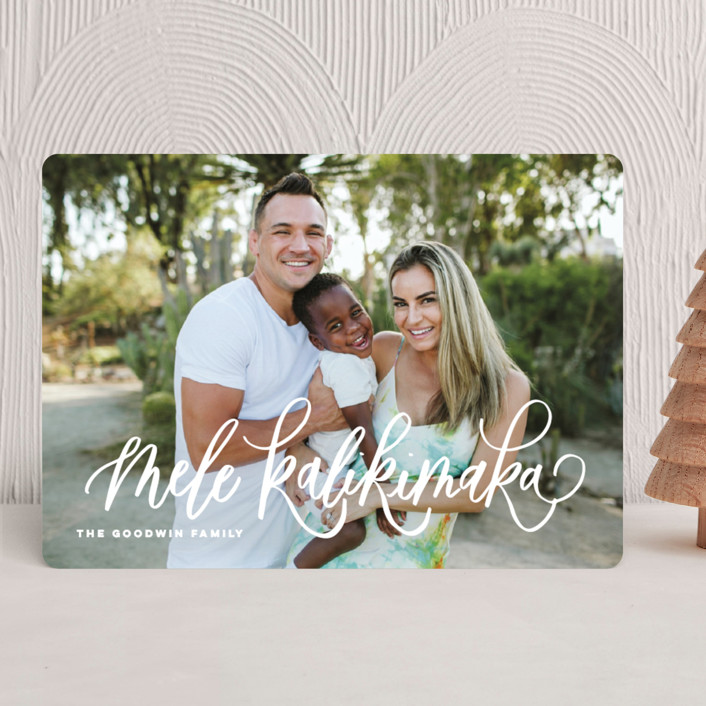 A Very Mele Kalikimaka Holiday Photo Cards by Elsa Duncan | Minted
