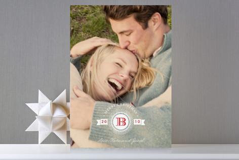 Medallion Holiday Photo Cards