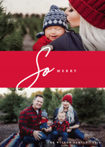 So Merry Duo Holiday Photo Cards By Liz Conley