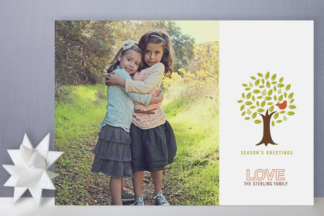 Pear Family Holiday Photo Cards