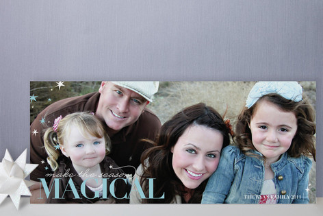 Make It Magical Holiday Photo Cards