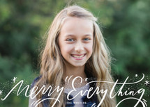 Everything Script Holiday Photo Cards By Julie Murray