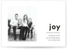This is a black holiday photo card by Kaydi Bishop called Edit with standard printing on smooth signature in standard.
