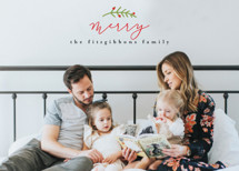 Merrier Than Ever Holiday Photo Cards By Michelle Poe