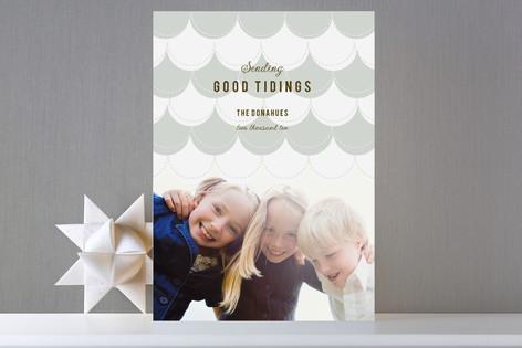 Felt Stocking Holiday Photo Cards