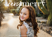 very merry moment Holiday Photo Cards By Sara Hicks Malone
