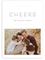 This is a white holiday photo card by Design Lotus called the edit with standard printing on smooth signature in standard.