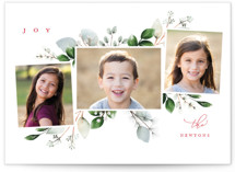 This is a green holiday photo card by Petra Kern called Winter Natura with standard printing on smooth signature in standard.