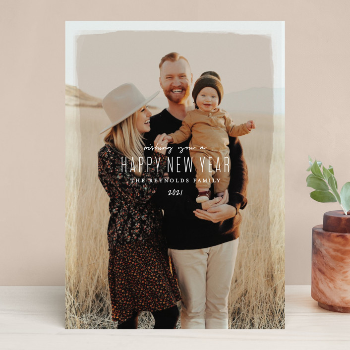 """Heirloom Holiday"" - Holiday Photo Cards in Desert by Melissa Egan of Pistols."