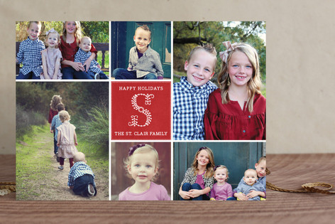 Monogramme Holiday Photo Cards