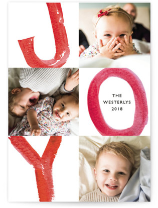 Loud and Clear Holiday Photo Cards