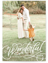 Wonderful Entwined Holiday Photo Cards By Kristen Smith