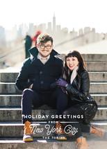 City Greetings Holiday Photo Cards By Kaydi Bishop