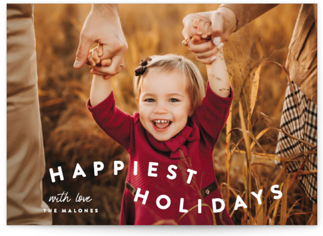 happy trails Holiday Photo Cards