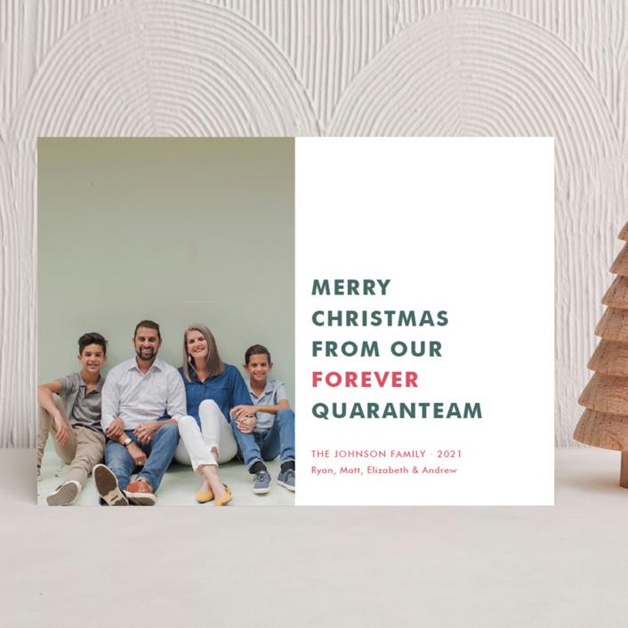 The Quaranteam holiday card