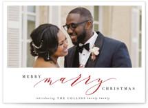 wedding christmas cards
