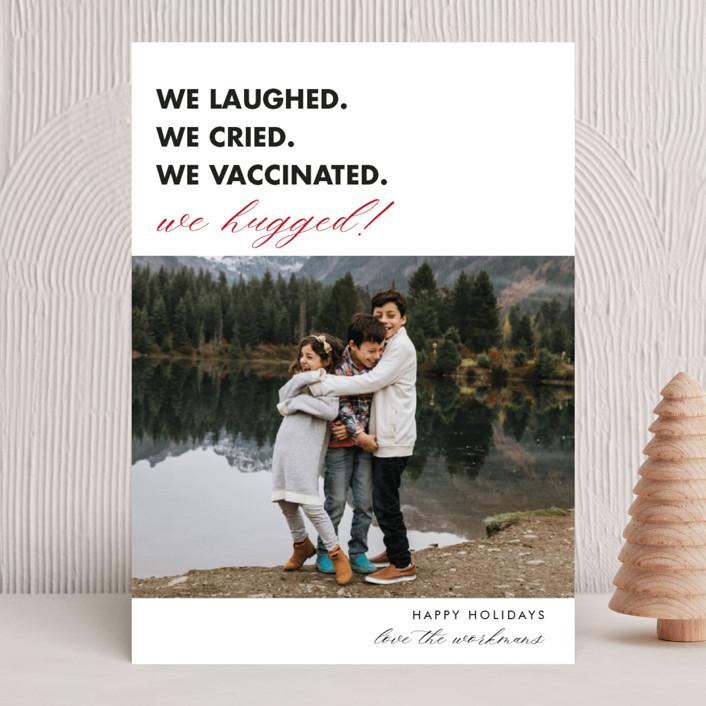 We Made It holiday card