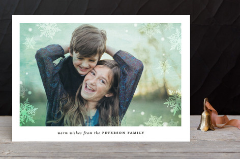 In the Frosty Air Holiday Photo Cards