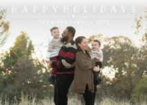 Height of Happiness Holiday Photo Cards By Carolyn MacLaren
