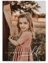 This is a white holiday photo card by chocomocacino called zucotto with standard printing on smooth signature in standard.