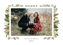 laurel of pines Holiday Photo Cards By Jennifer Wick
