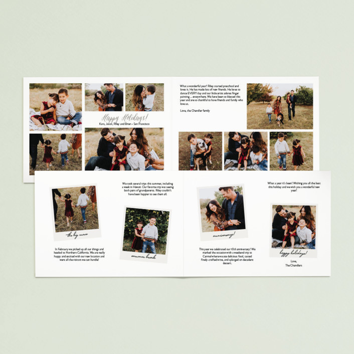 Fresh All You Need is Love Holiday Photo Cards by Sarah Curry | Minted PB06