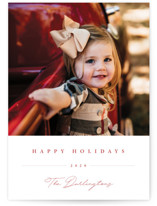 Sweet Signature Holiday Photo Cards By Chryssi Tsoupanarias
