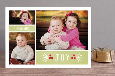 Berry Joyous Holiday Photo Cards