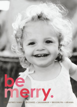 Cherry Merry Holiday Photo Cards By design market