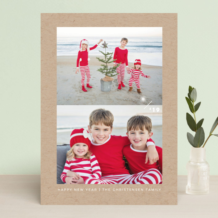 """""""True Minimalism"""" - Holiday Photo Cards in Snow by fatfatin."""