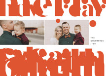 Merry and bold Holiday Photo Cards By Anna Elder