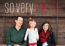 Merry Holiday Holiday Photo Cards By Erin Deegan