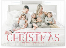 Deco Christmas Holiday Photo Cards By Annie Holmquist