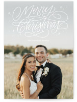 Merry Shimmer Holiday Photo Cards By Kristen Smith
