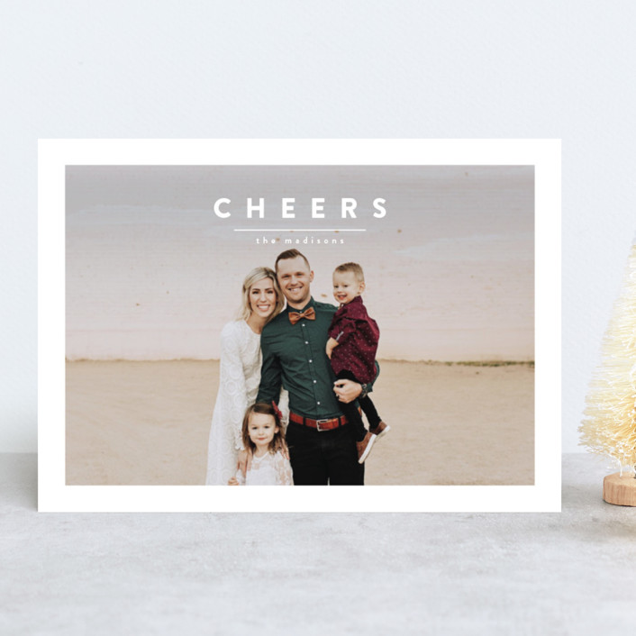 """""""ricotta"""" - Holiday Photo Cards in Snow by chocomocacino."""