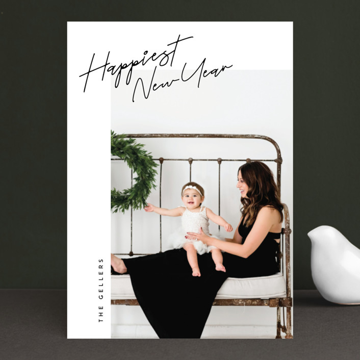 """linzer"" - Holiday Photo Cards in Ebony by chocomocacino."