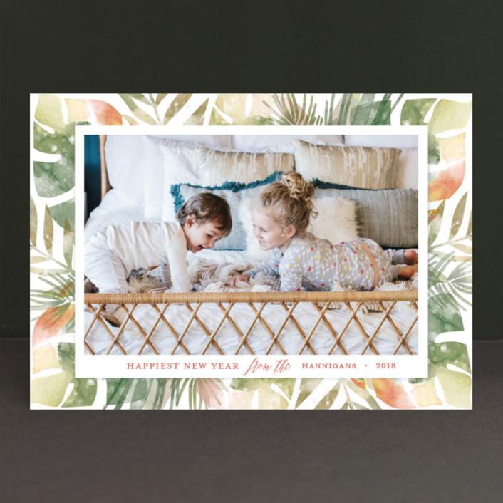 """paradiso"" - Holiday Photo Cards in Xanadu by shoshin studio."