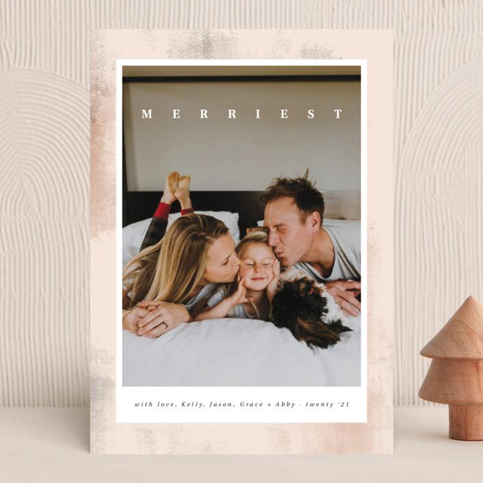 """""""Kanvas"""" - Holiday Photo Cards in Gumdrop by Kann Orasie."""