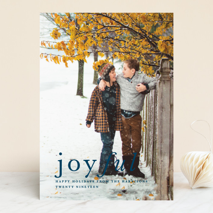 Balance Holiday Photo Cards By Carly Reed Walker