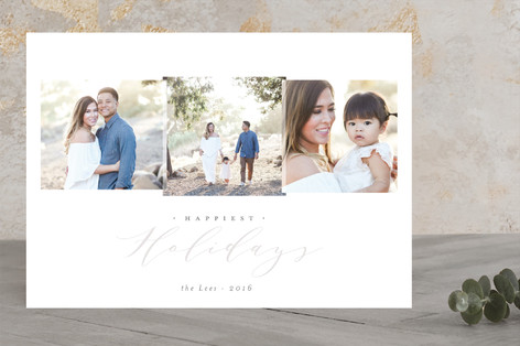 zephyr Holiday Photo Cards