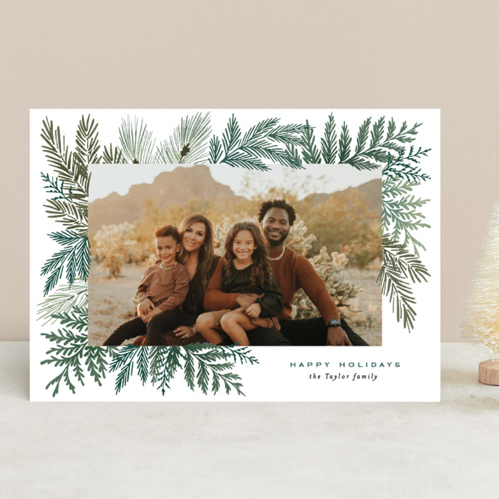 Evergreen Variety holiday card