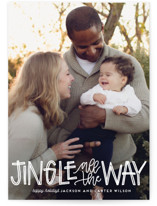 Jingle Holiday Photo Cards By Leah Bisch