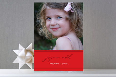 PARIS Holiday Photo Cards