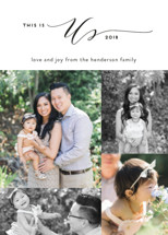 This is Us Holiday Photo Cards By Simona Cavallaro